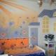 اختيار خلفية السائل لغرفة الأطفال