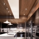 Takdesign i köket-vardagsrummet