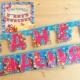 Guirlandas Feliz Aniversário!: Variações e guia de fazer