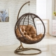Rattan swing: types, shapes and sizes