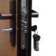 Miten korjata lukon sisäänkäynnin rauta-ovelle?