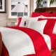 Red bedding: features and color effects
