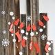 क्रिसमस रोशनी - आसान अहसास के लिए ताजा विचार