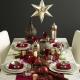 Коледни покривки и салфетки: как да избереш и да направиш себе си?
