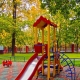 Coverage for playgrounds in the country: types and choice of flooring