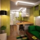 Design and interior design of kitchen-living room area of ​​12 square meters. m