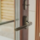 Balcony door handles: types, installation and repair