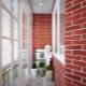 Comment peindre un mur de briques sur le balcon?