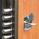 How to put locks in metal doors?