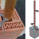 Inbäddad i tegelpelare för porten: hur man väljer och installerar?