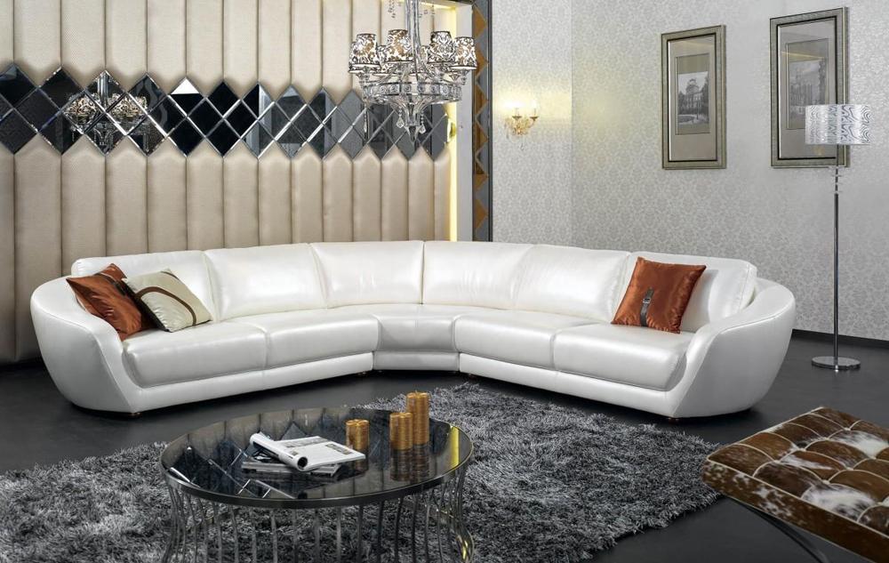 Groot Leren Bankstel.Witte Lederen Sofa 59 Foto S Hoekbank Met Poten Van Eco Leer Of