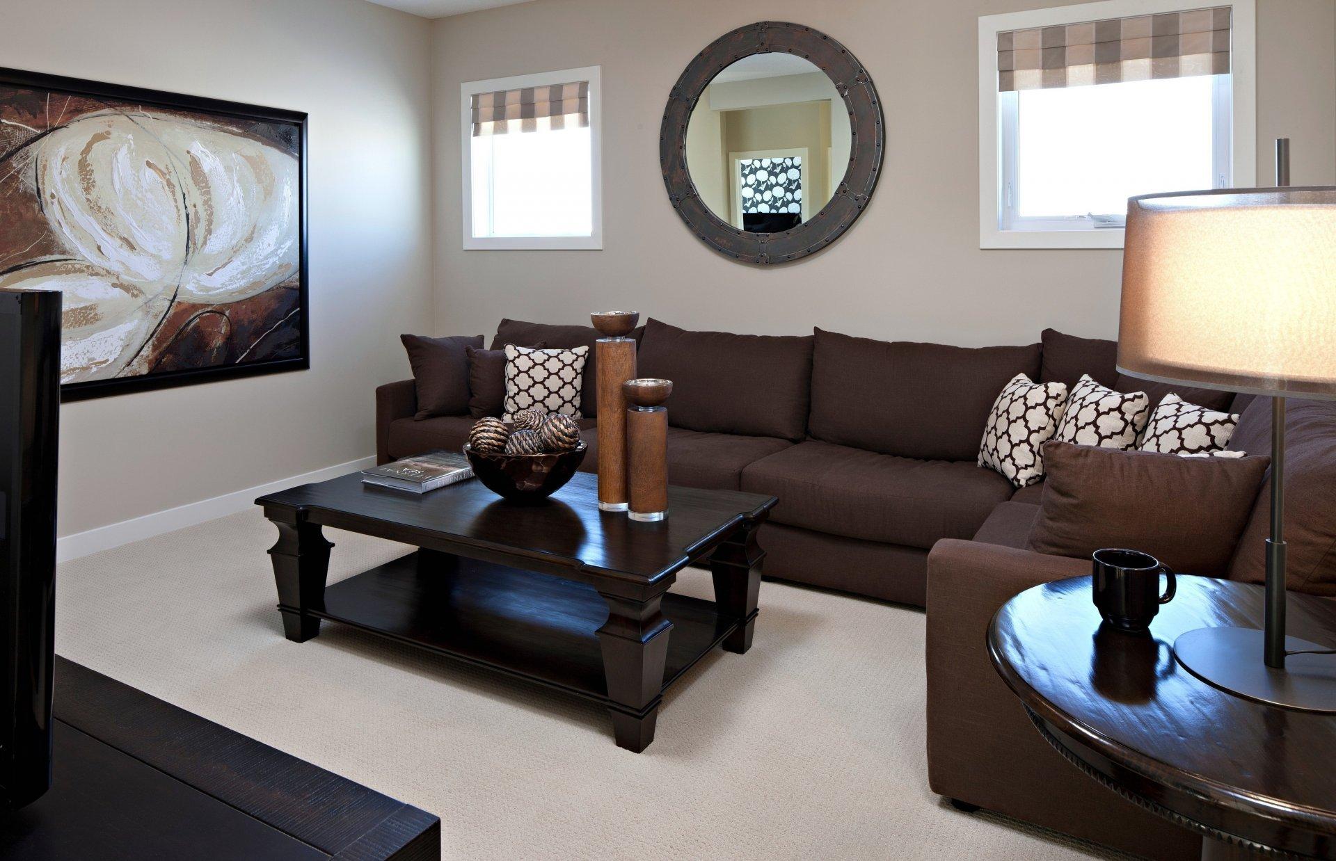 Cuscini Su Divano Marrone divano marrone (59 foto): modelli di colore marrone chiaro e