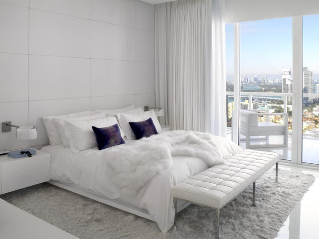 White Bedroom In Modern Style 35 Photos Interior Design