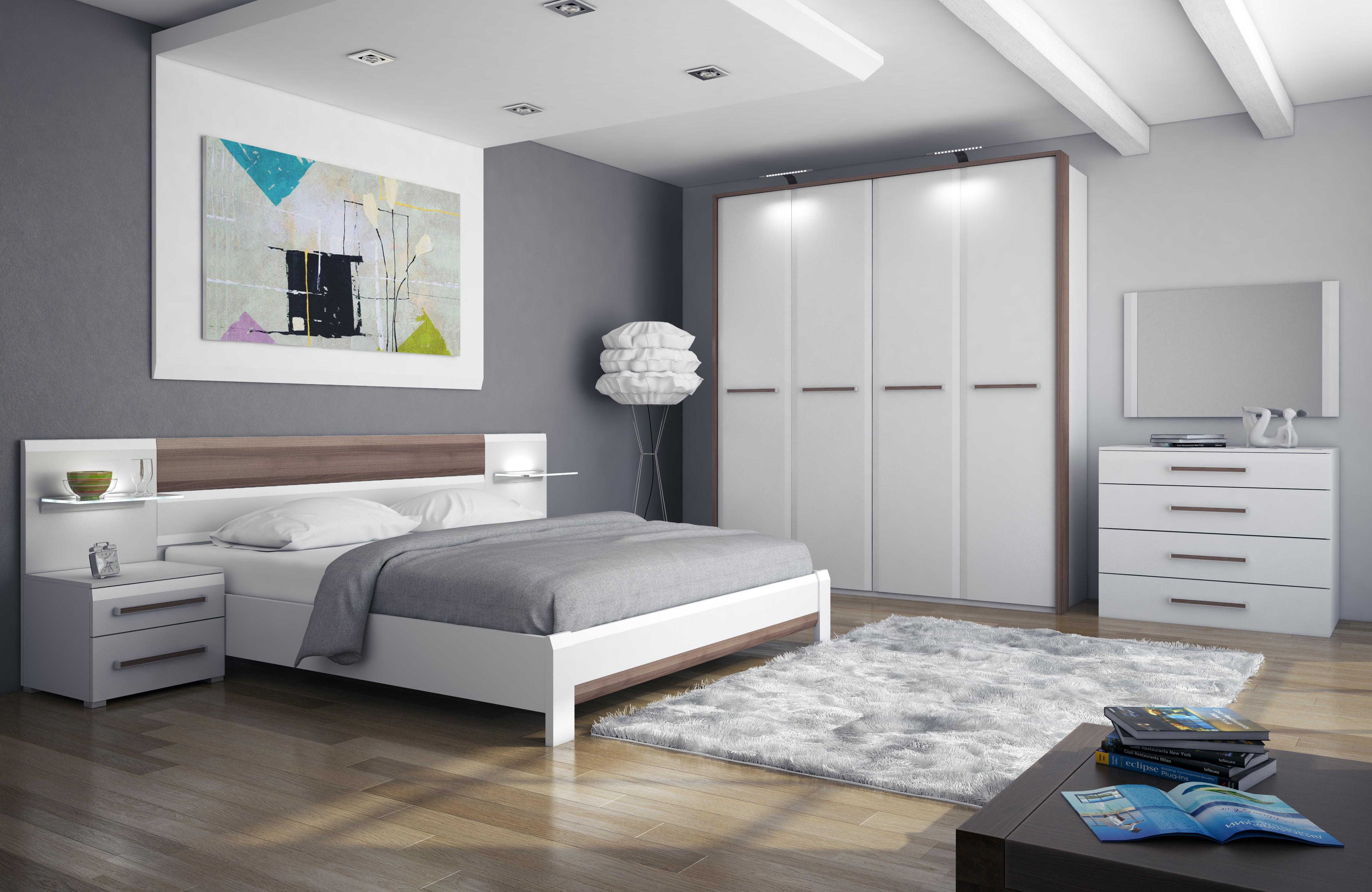 Set Bilik Tidur Putih 39 Gambar