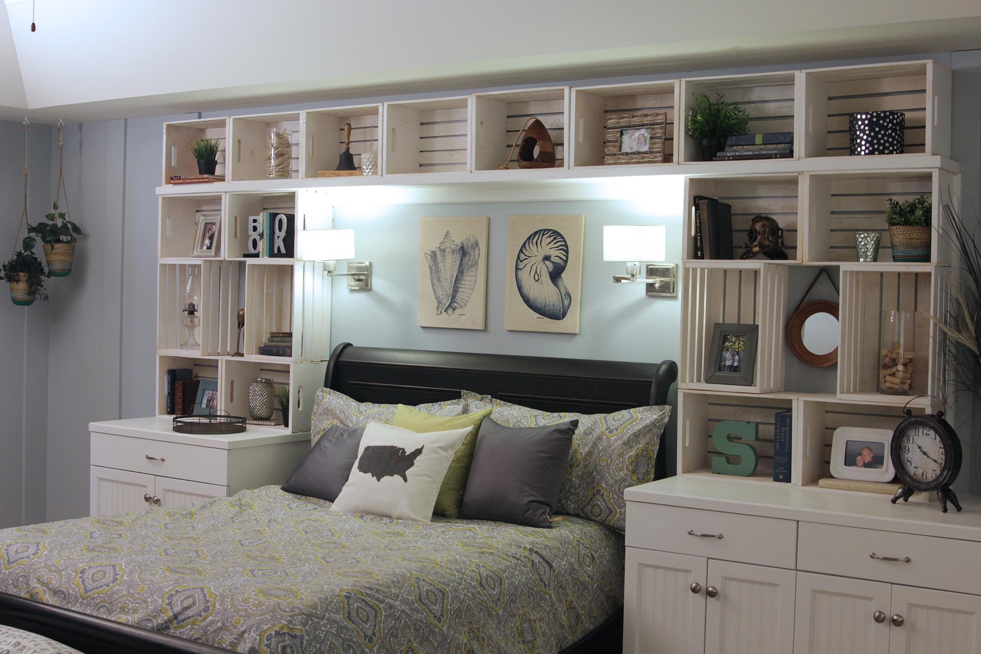 Parete Dietro Letto Idee pannello nella camera da letto sopra il letto? 70 foto: come