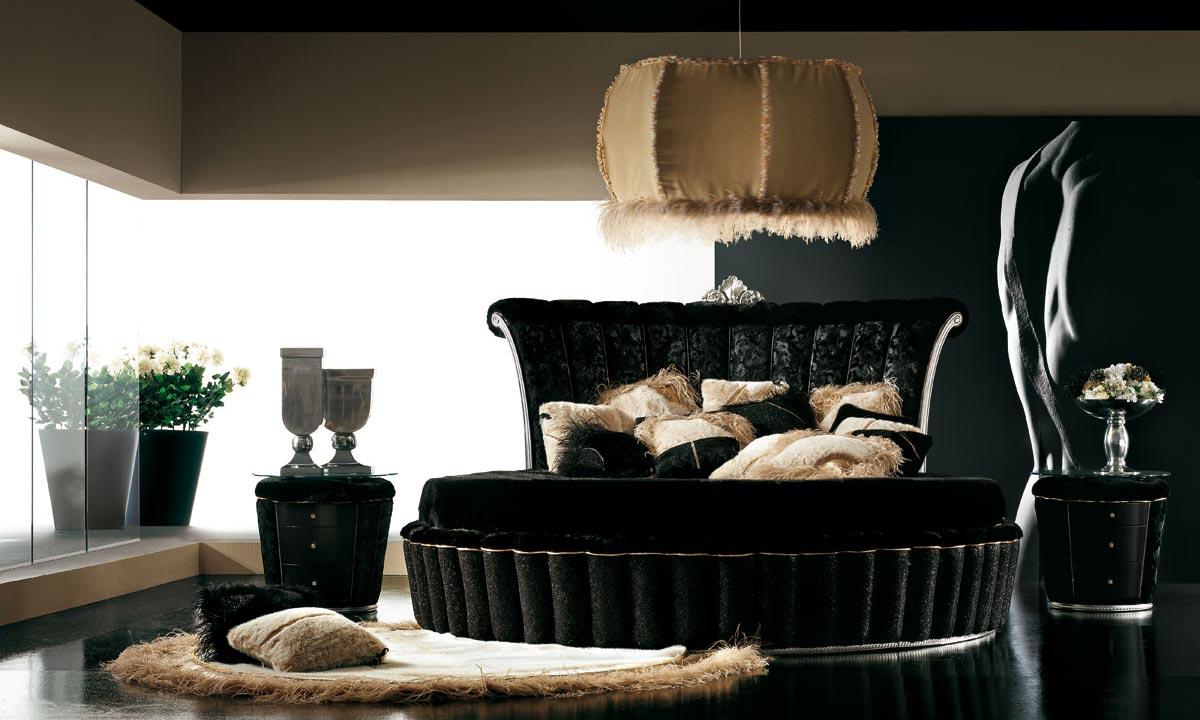 Camera Da Letto Bianca E Nera design della camera da letto nero (60 foto): interno in