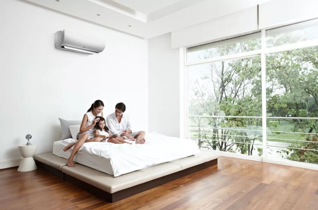 Air conditioning for the bedroom: the most quiet and silent ...
