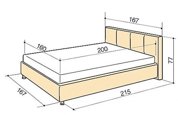 Letto Singolo Dimensioni Standard.Dimensioni Del Letto Camion 54 Foto Larghezza Lunghezza E