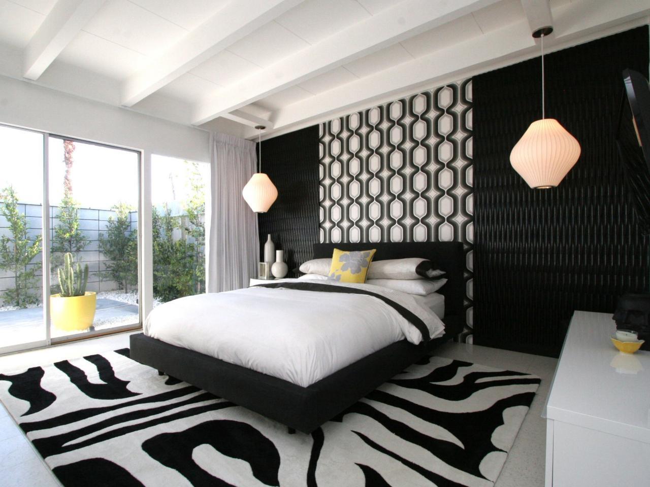 Camera Da Letto Bianca E Nera camera da letto in bianco e nero (76 foto): interior design