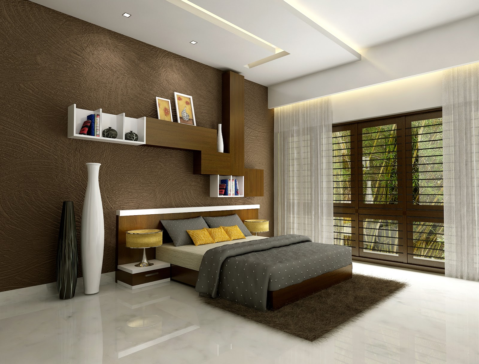 Bedroom In Modern Style 68 Photos Interior Design White Italian Modular Bedroom