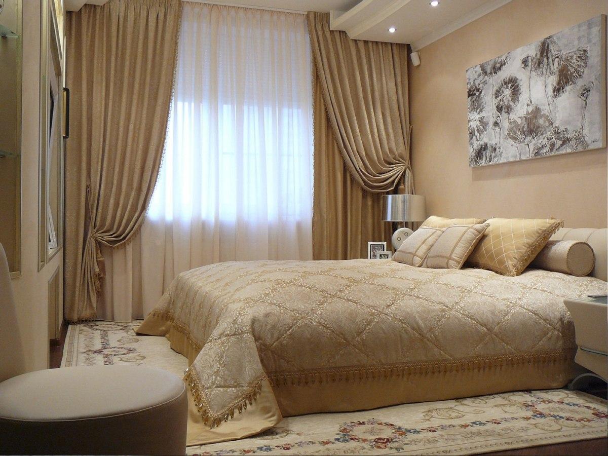 Tende Stanza Da Letto Classica il colore delle tende nella camera da letto (64 foto