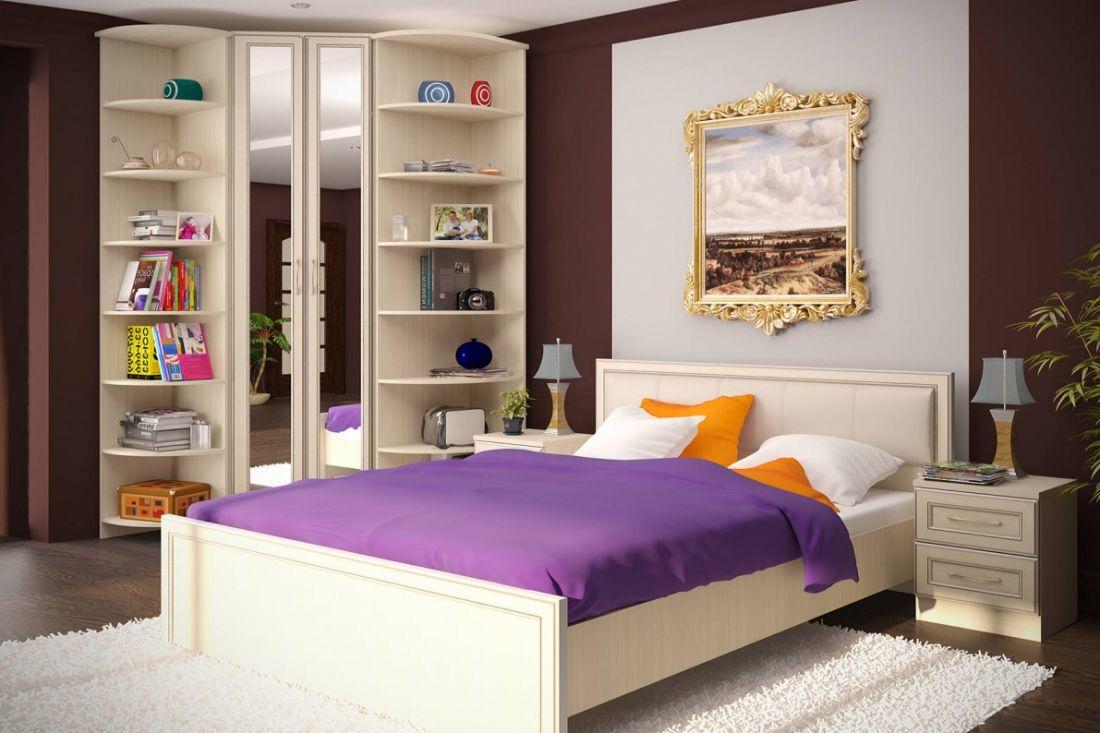 Schlafzimmer-Suite für ein kleines Schlafzimmer (45 Fotos ...