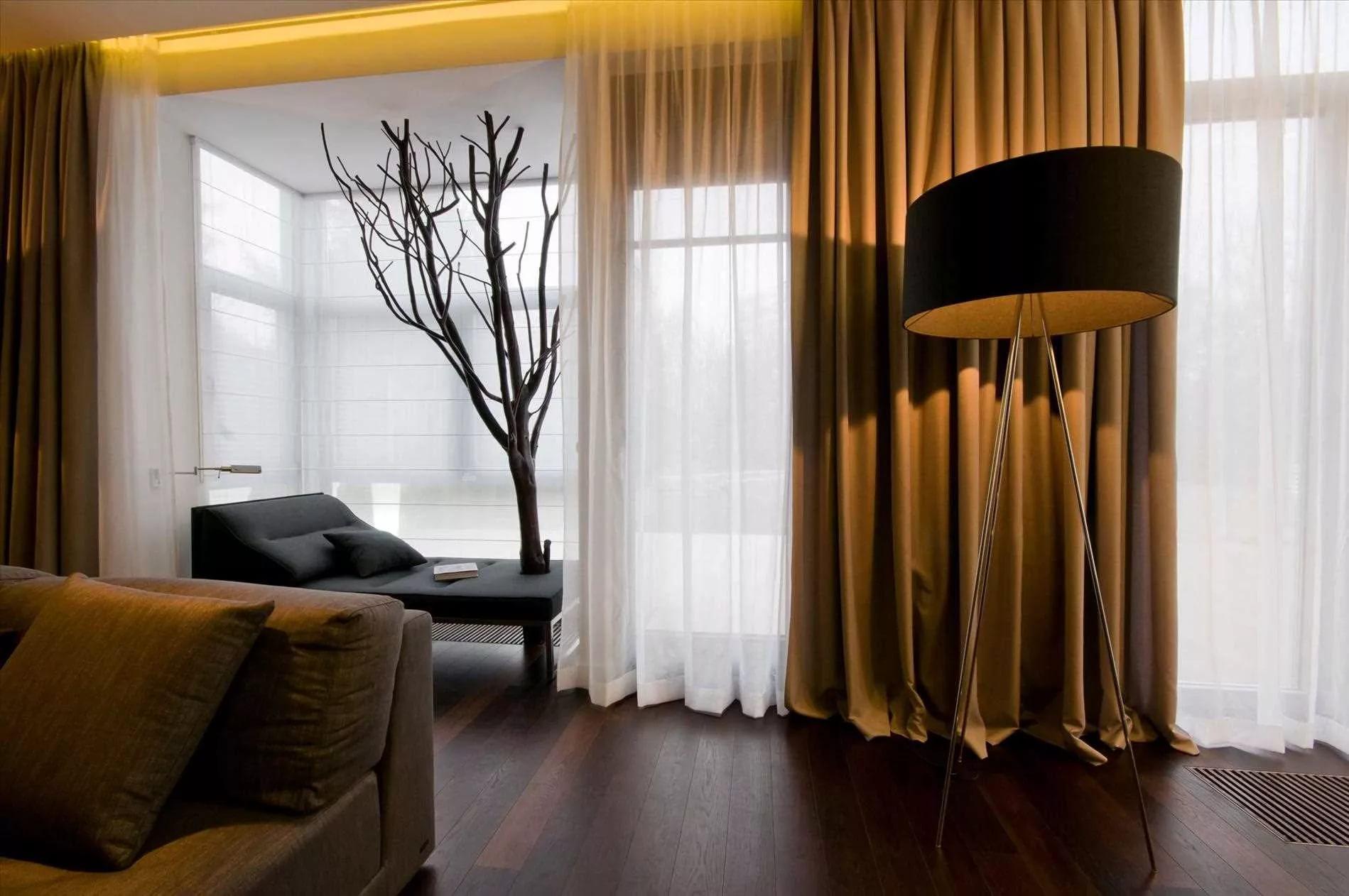 Tende Per Salotto Classico portieres per il salotto (60 foto): design alla moda nel