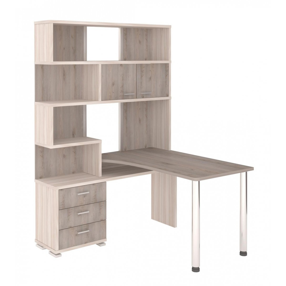 Picture of: Computer Table With Cabinet 72 Photos A Transformer With Shelves Angular For A Computer A Model With A Wardrobe