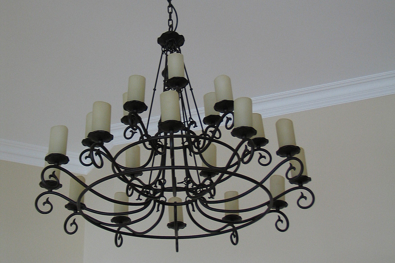 Chandelier With Candles 28 Photos