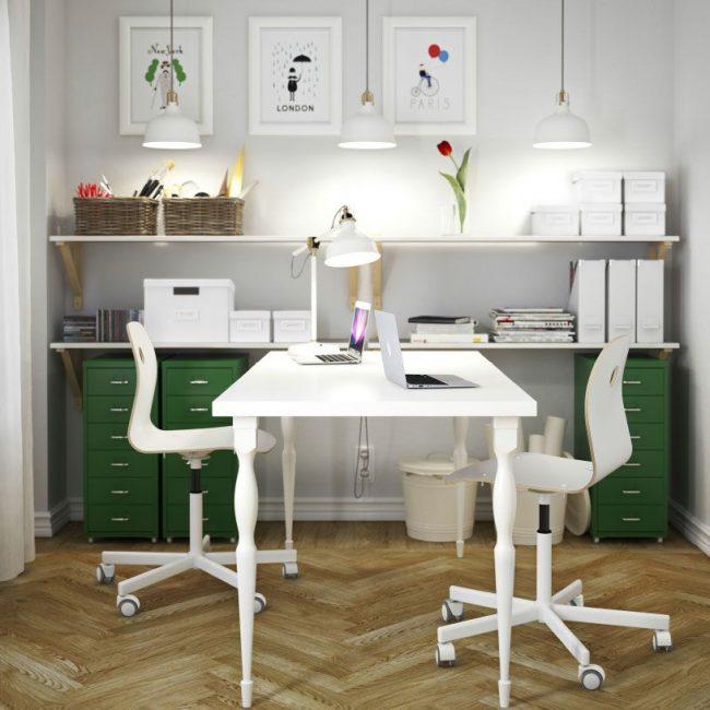 Tavoli Ikea (73 foto): modelli angolari funzionanti con un ...