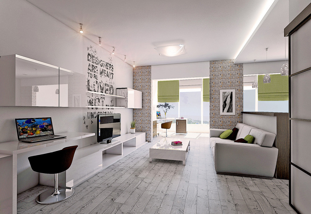 Design Of A Two Bedroom Apartment Of 60 Square Meters M 64 Photos Examples And Variants Of The Interior Project