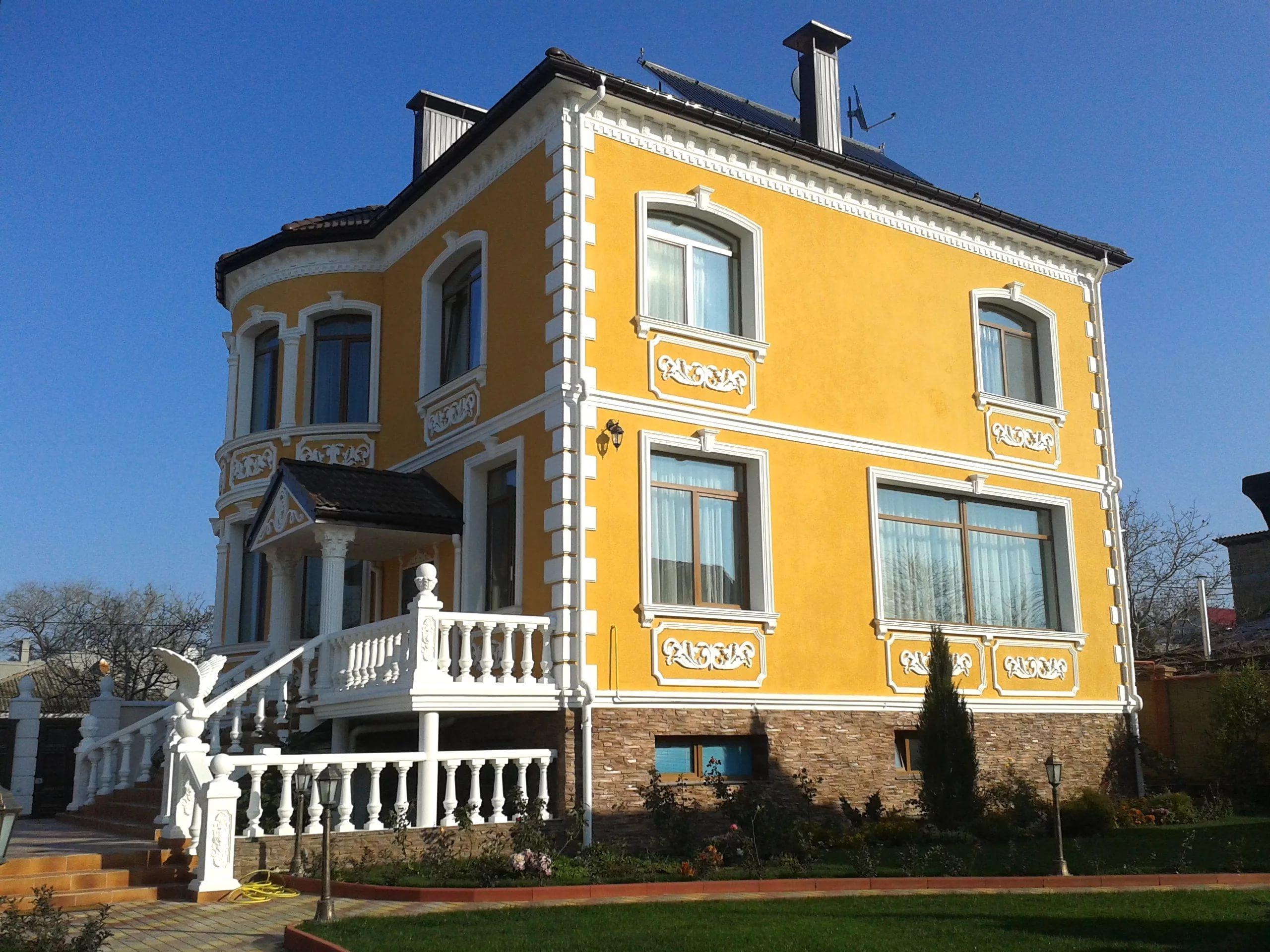 Colori Per Facciate Case facciate di case in vari stili (66 foto): stili classici