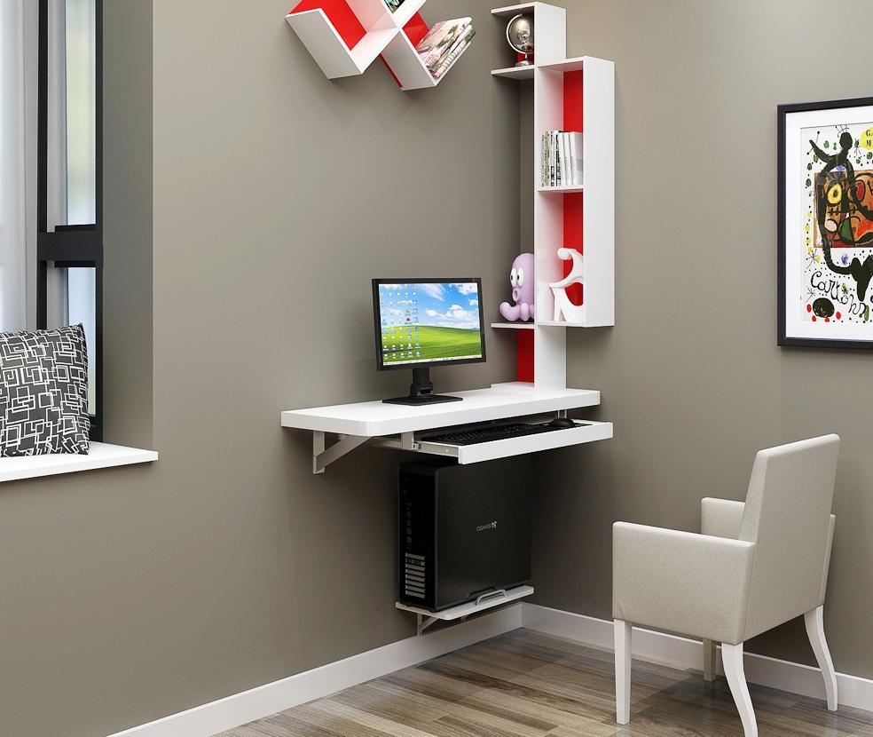 Meja komputer kecil (67 gambar): pilih saiz kecil dan meja ...
