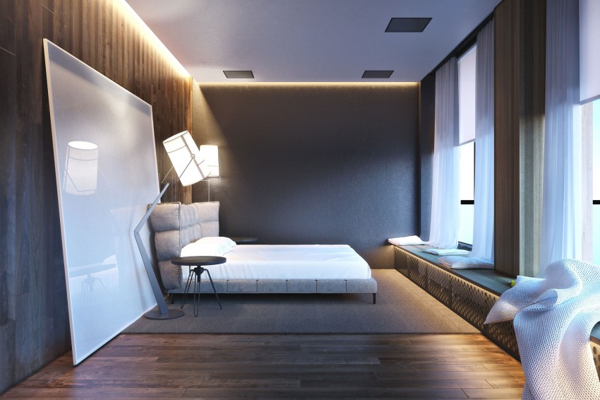 Male Room Design 43 Photos A Rectangular Bedroom With An Area Of 12 13 And 16 Square Meters Meters In Modern Style For A Male Bachelor 30 Years Or Another Age Options For Beautiful Stylish Interiors