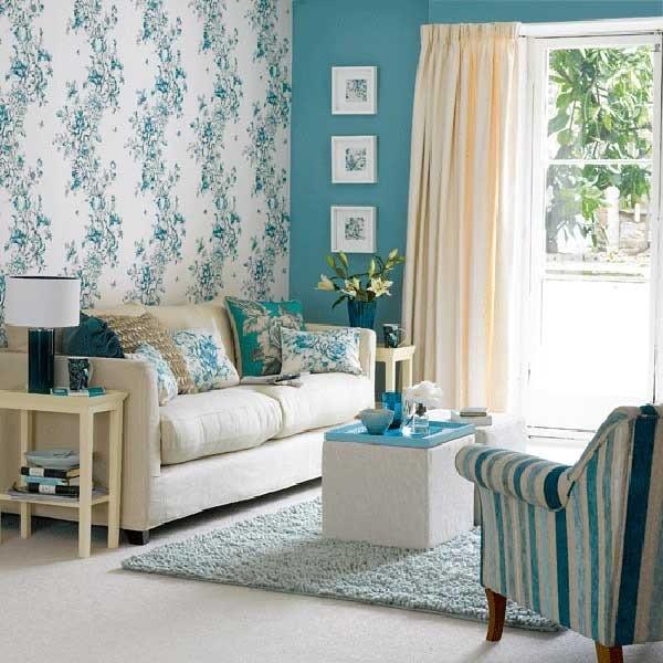 Kami Memilih Langsir Untuk Kertas Dinding Biru 30 Gambar Apa Warna Untuk Memilih Langsir Dan Tulle