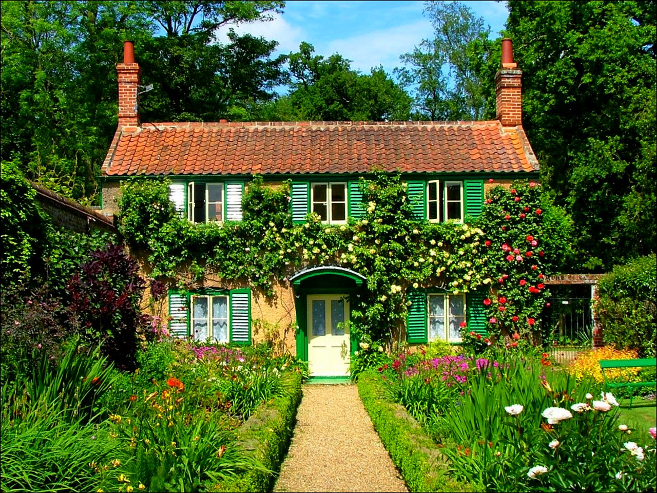 mothers countryside cottage - HD1024×768