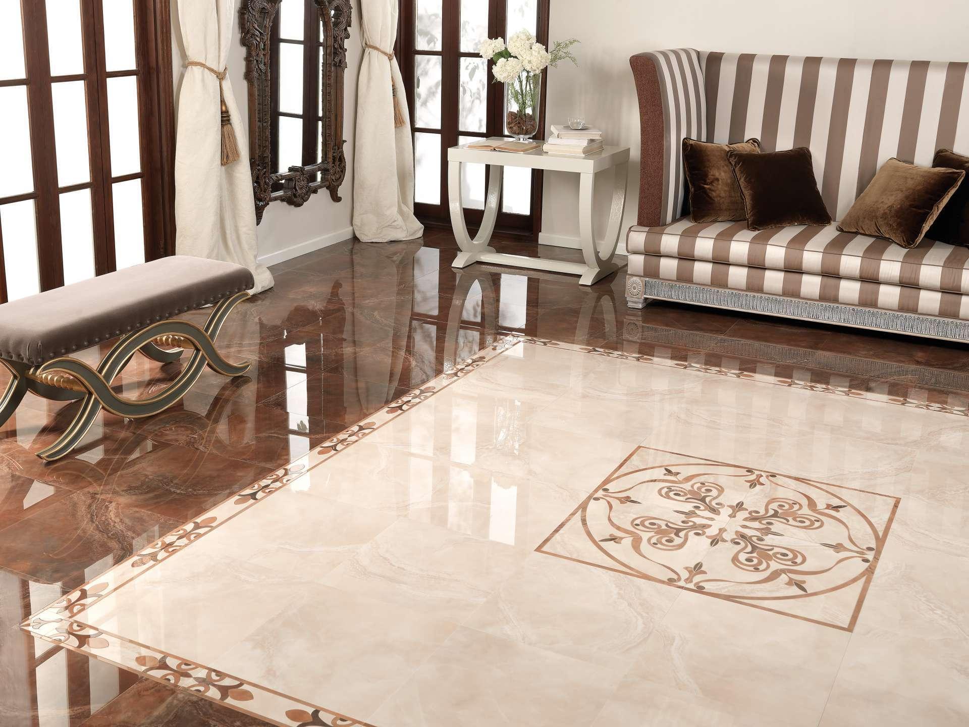 Piastrelle Moderne Per Interni piastrelle lucide per pavimenti (28 foto): pavimento nero e