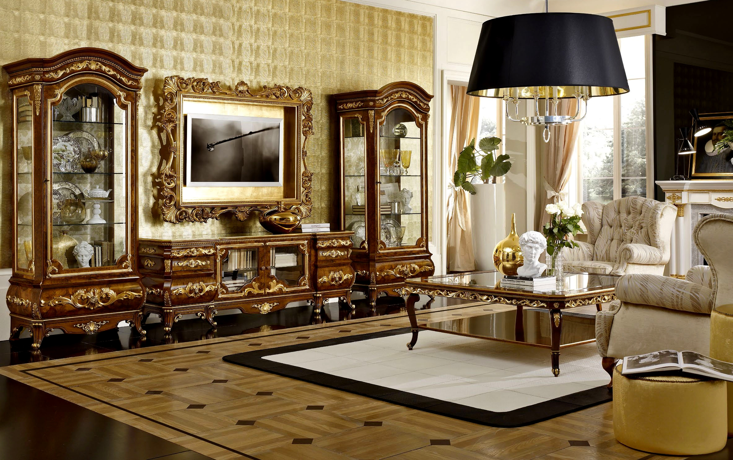 Italian Furniture For The Living Room Furniture In The Classic And Modern Style Of Production Italy Modern Or Classic In The Arrangement Of The Living Room
