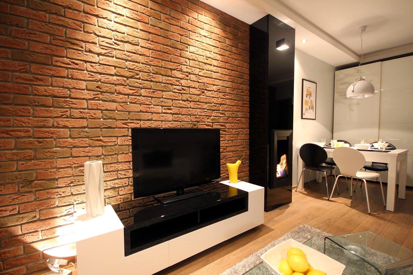 Deco Murale Au Dessus Tele conception murale avec une télévision dans le salon (52