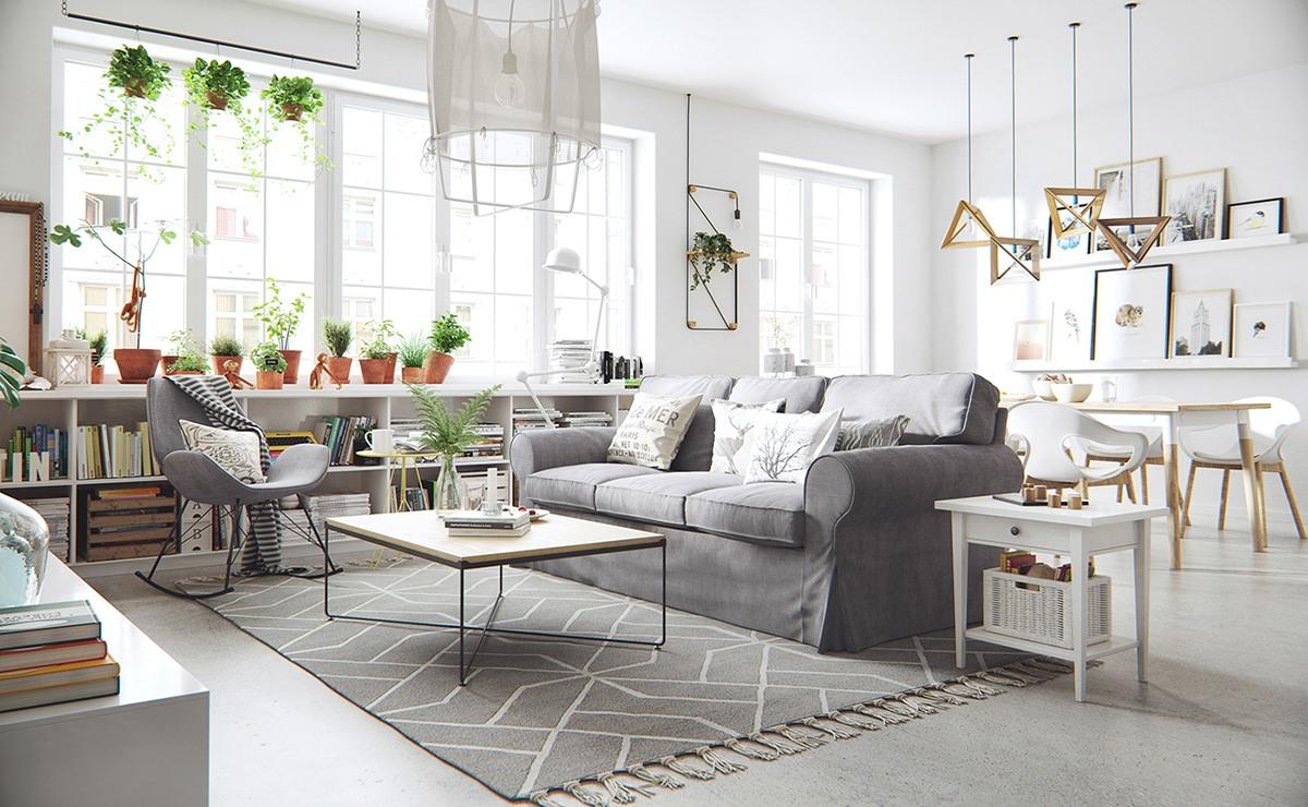 Kitchen Living Room In The Scandinavian Style 29 Photos Interior Design Ideas