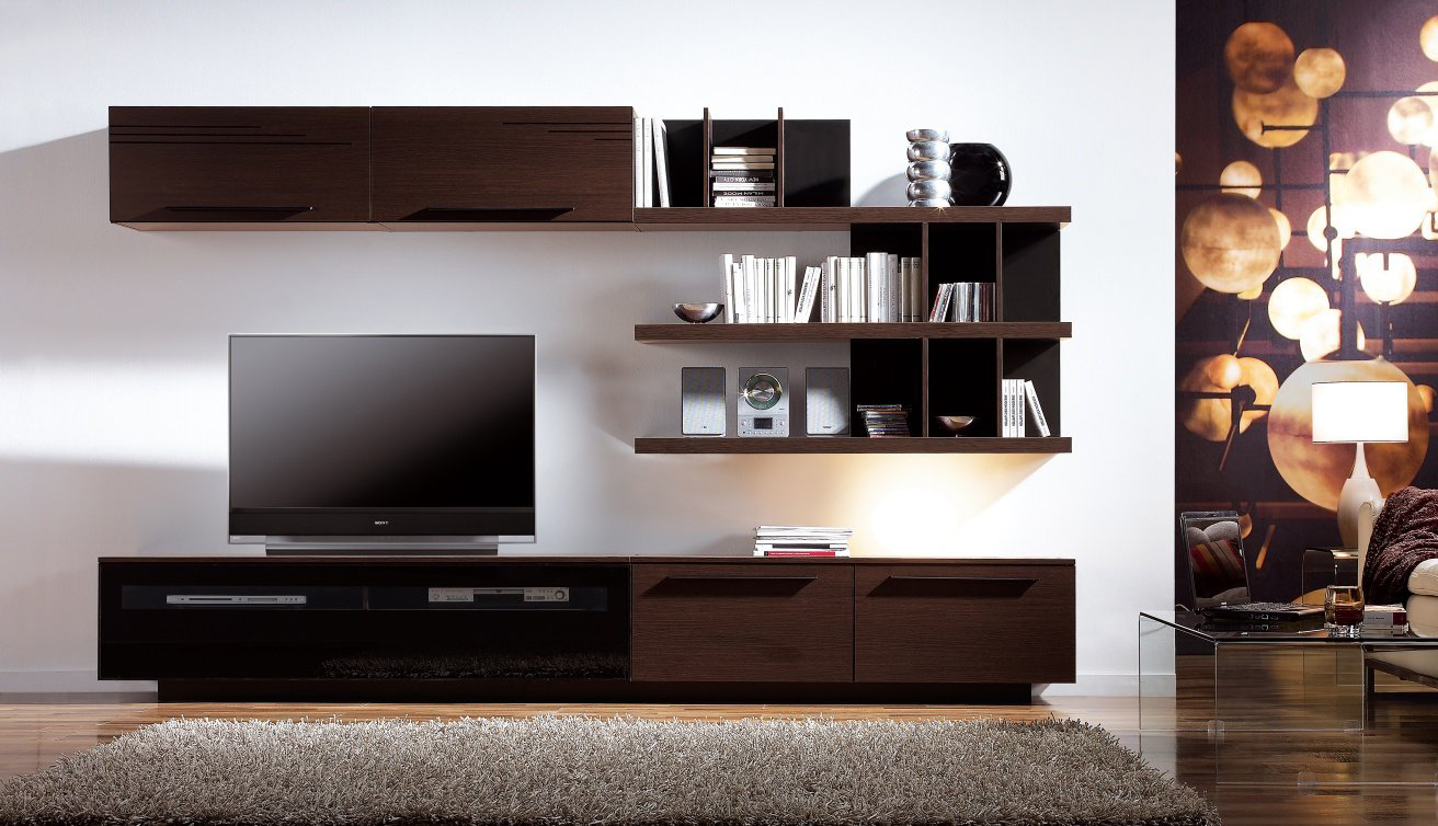 muebles de esquina para sala de estar Muebles Debajo Del Televisor En La Sala De Estar 39 Fotos