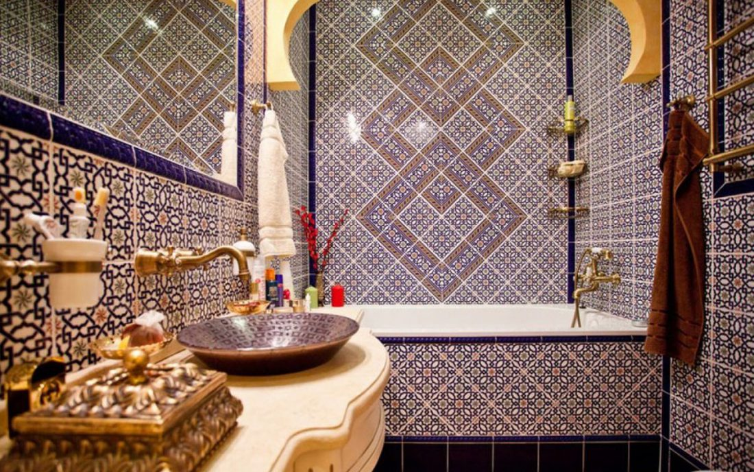 "Moroccan tiles (17 photos): a collection of ceramic tiles in the style of  ""Morocco"", Portuguese and Spanish products"