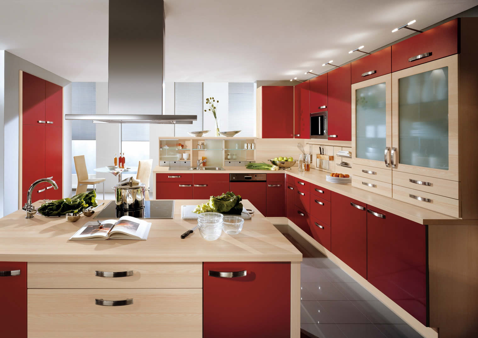 Popular Styles For The Design Of The Kitchen Living Room Interior