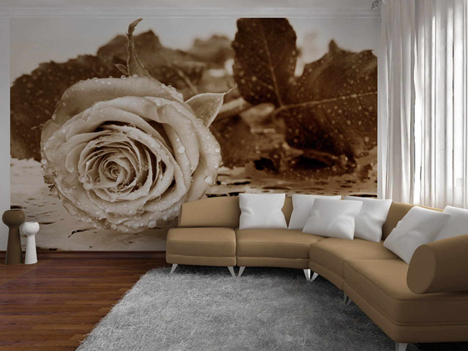 Stereoskopik 3D Wallpaper Untuk Dinding 39 Foto Model