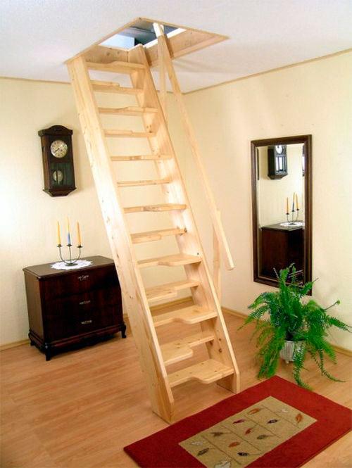 Tetőtéri lépcsők