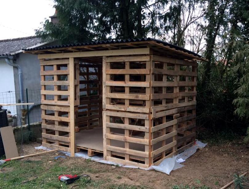 Gambar Kanopi Rumah Kayu arbor palet 41 foto pembinaan palet cara membuat arbor