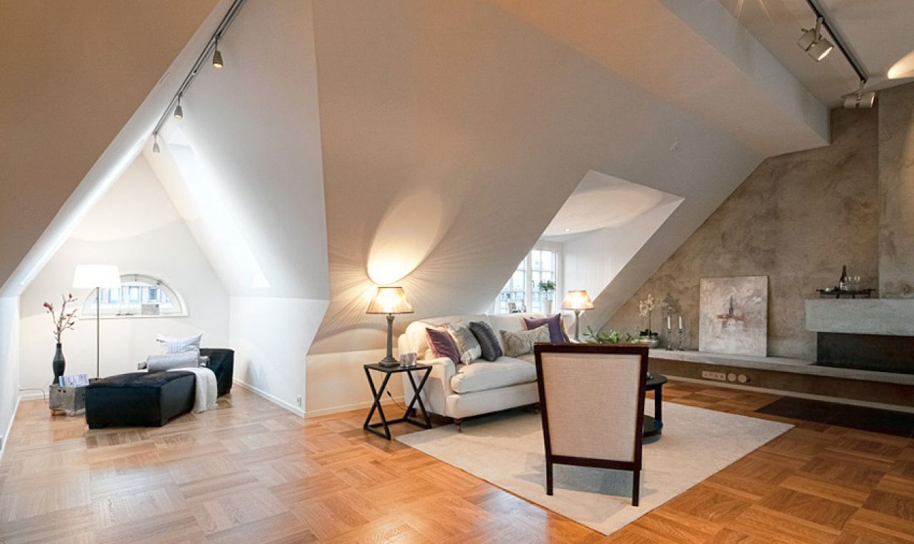 Apartment With Attic 34 Photos Is It Worth Ing Pros And