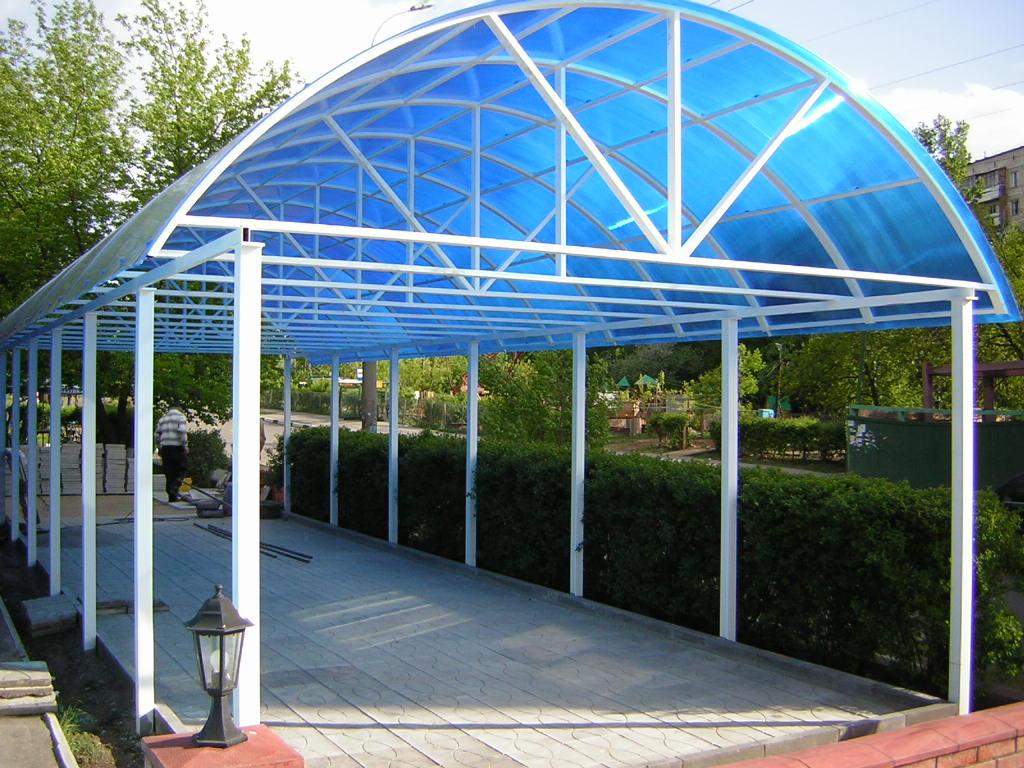 Coperture Gazebo In Policarbonato tetto in policarbonato (56 foto): tipi di materiali di