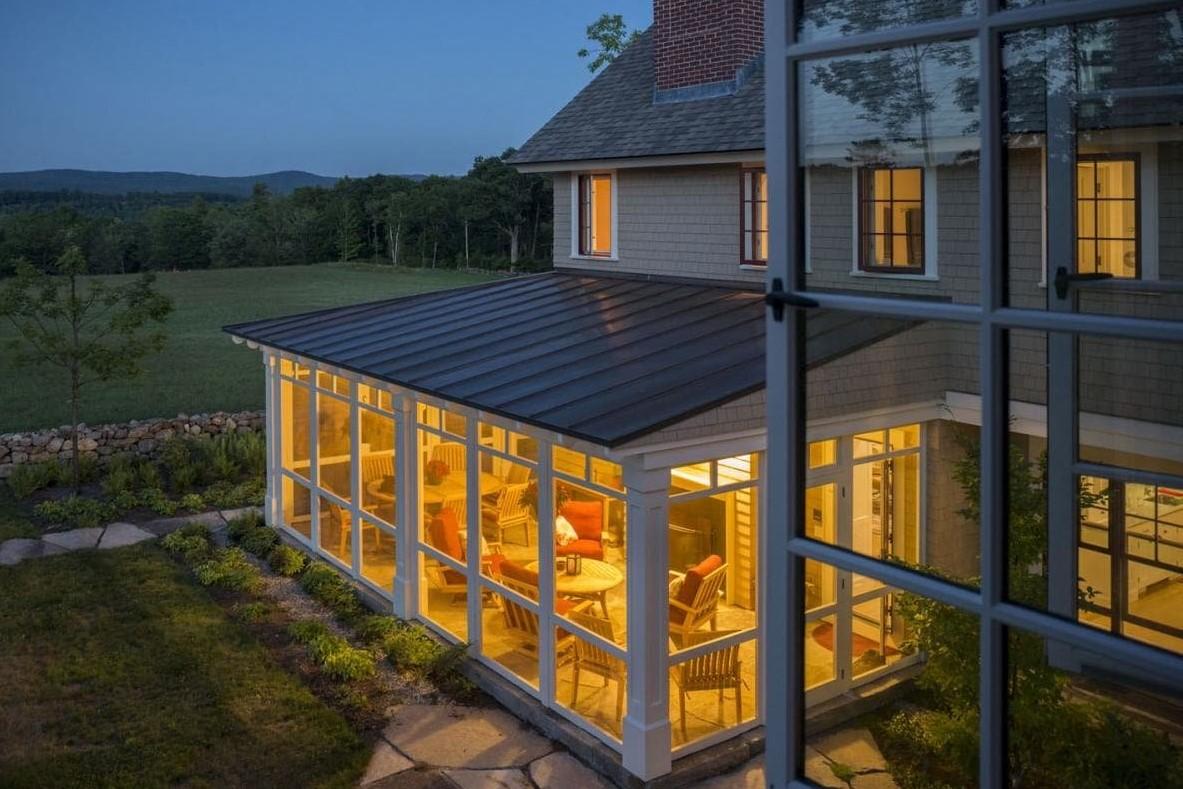 Atemberaubend Verglasung der Veranda: verglaste Terrasse, rahmenlose Verglasung #WU_82
