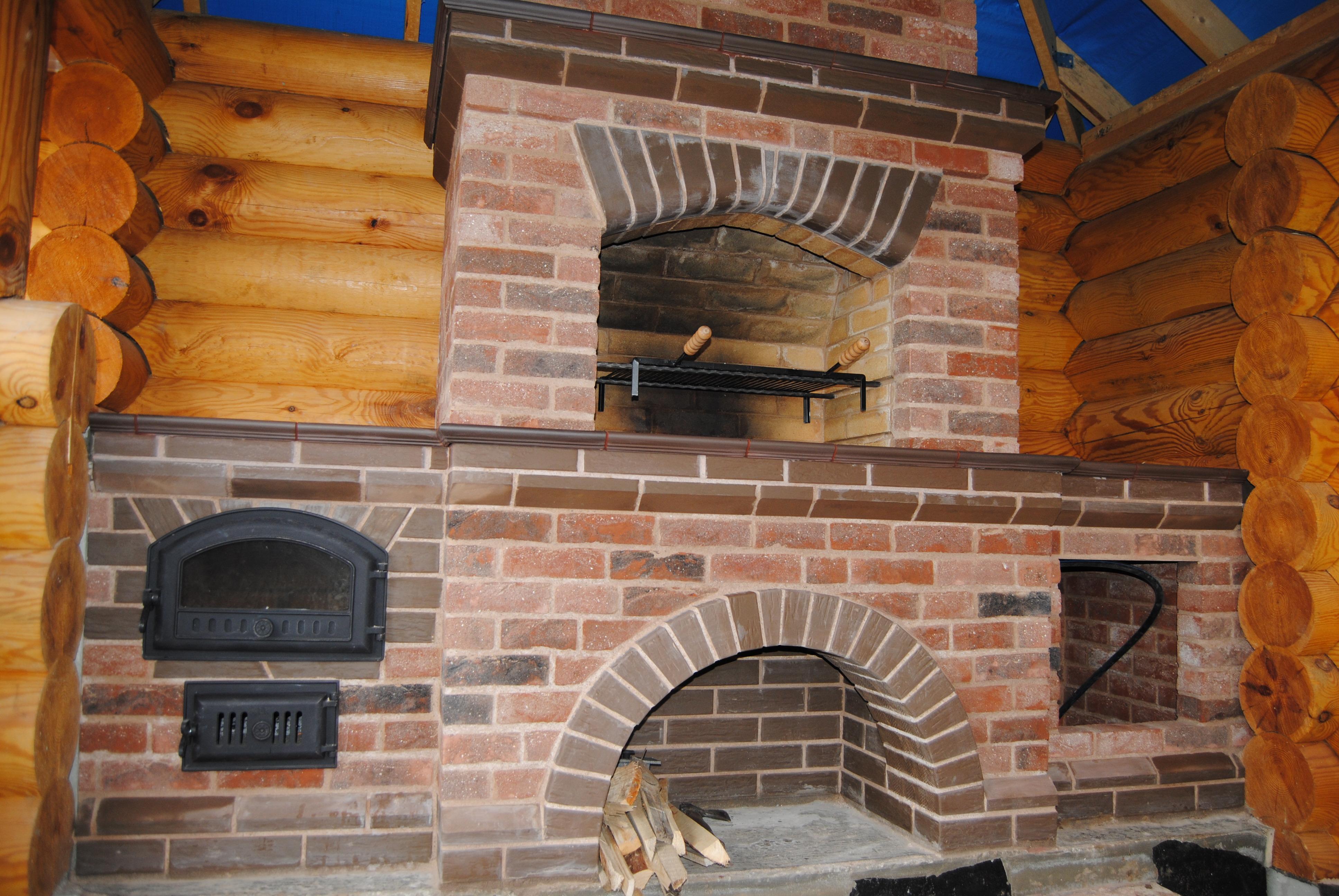 Construire Un Foyer Extérieur poêle à barbecue (48 photos): complexe extérieur avec